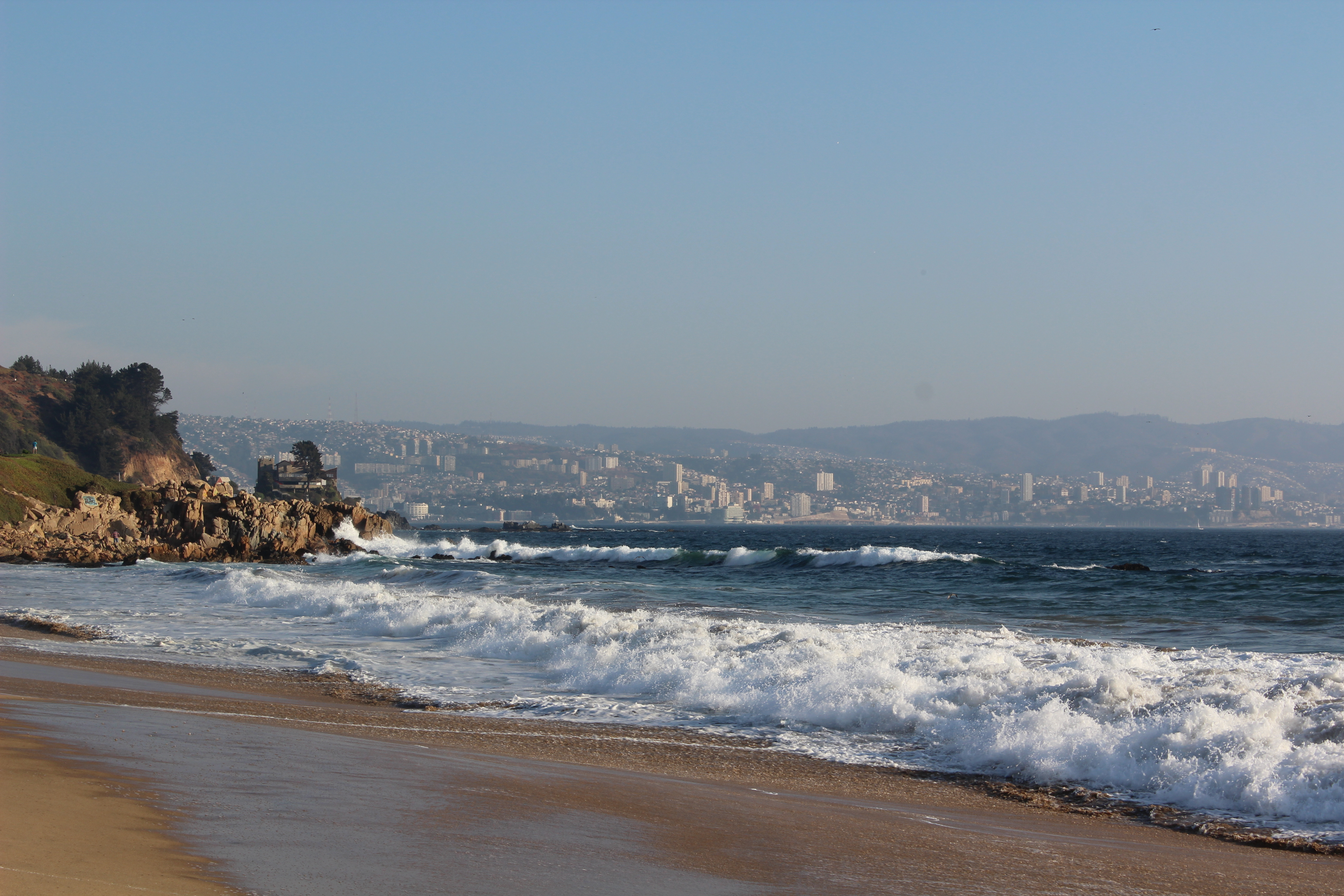 Pacific Ocean, Renaca, Vaparaiso, Chile